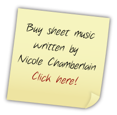 Buy sheet music written by Nicole Chamberlain