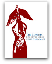 The Phoenix for flute choir
