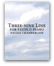 Three-Nine Line flute and piano sonata