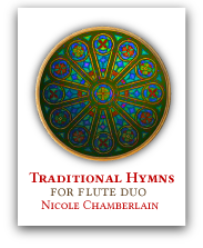 Traditional Hymns for flute duet